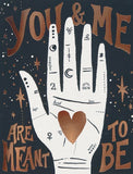 idlewild co. greeting card 'palmistry' - the-tangerine-fox