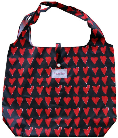 gifted hands shopping bag 'love' black