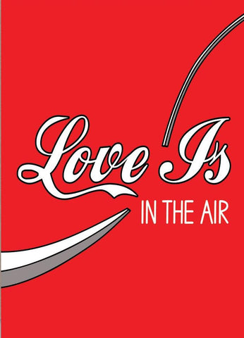 ahd paper co. greeting card 'love is in the air' - the-tangerine-fox