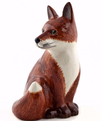 QUAIL MONEY BOX 'FOX'