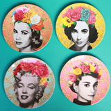 la la land melamine plate set 'golden age cinema'