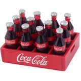miniature 'coca cola carton' 12 bottles