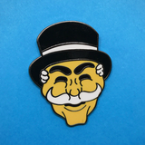 arsenic or cyanide enamel pin 'mr robot'