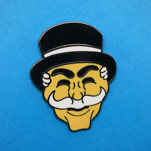 ARSENIC OR CYANIDE 'MR ROBOT' ENAMEL PIN