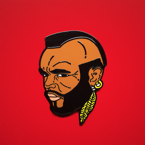 arsenic or cyanide enamel pin 'i pity the fool'