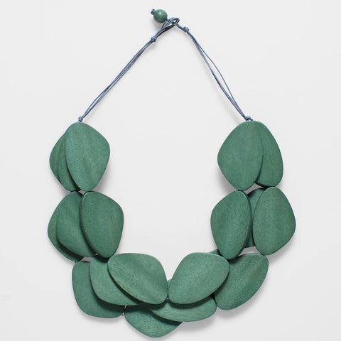 elk necklace 'kamile' mint matte