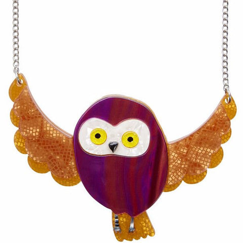 ERSTWILDER 'SPARK THE OWL' NECKLACE