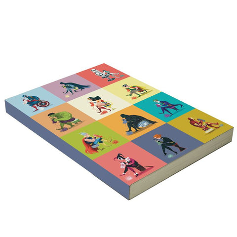 LA LA LAND NOTEBOOK 'SUPERHERO COLLECTION'