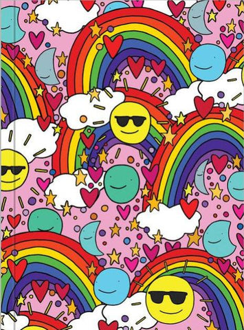 ahd paper co. notebook smiles & rainbows