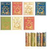 miniature books 'chronicles of narnia' set of 7