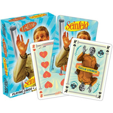 'seinfeld festivus' playing cards