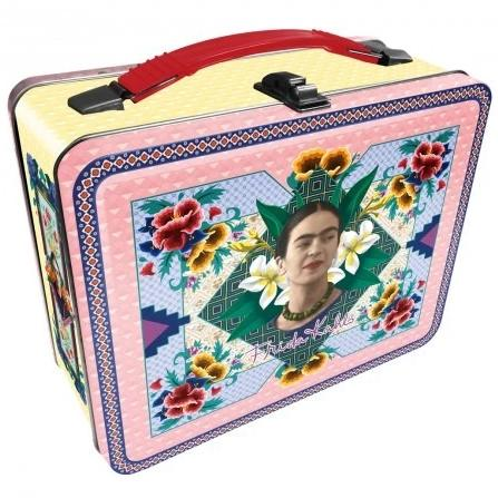 nmr tin carry all fun box 'frida kahlo'