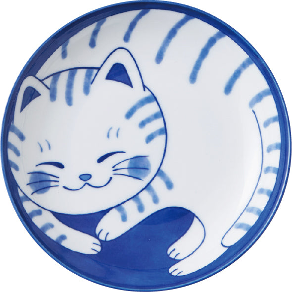 concept japan 'tabby cat' plate