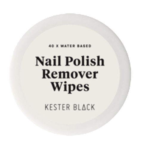 KESTER BLACK 'NAIL POLISH REMOVER WIPES'