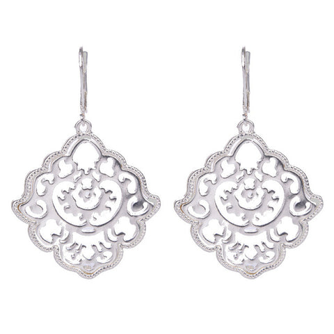 sugar earrings 'boho filigree' silver