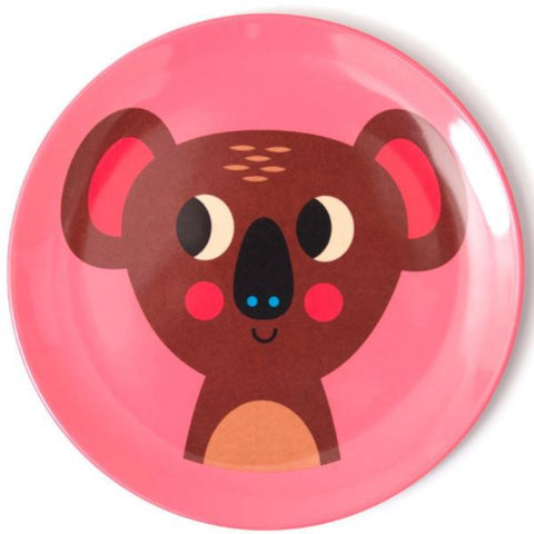 OMM DESIGN 'KOALA' MELAMINE PLATE - the-tangerine-fox