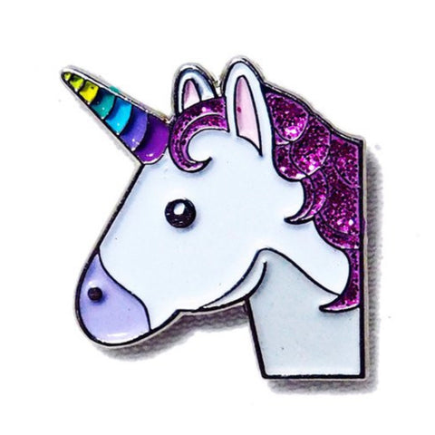 PINDEMIC UNICORN EMOJI ENAMEL PIN
