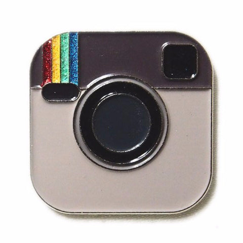PINDEMIC 'INSTAGRAM' ENAMEL PIN