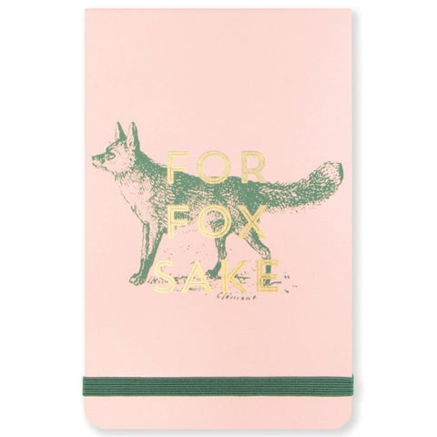 designworks ink. notepad vintage sass 'for fox sake'