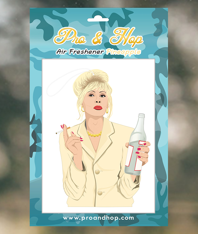 pro and hop air freshener 'patsy' - the-tangerine-fox
