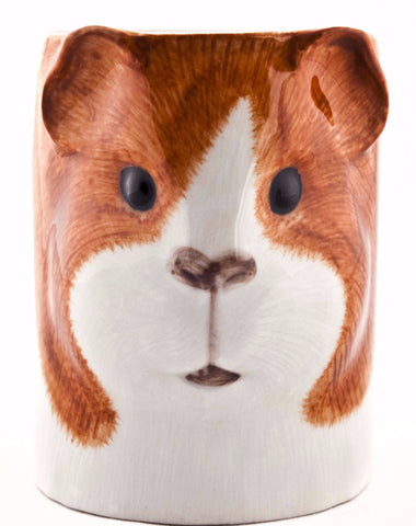 QUAIL PENCIL POT 'DUTCH GUINEA PIG'