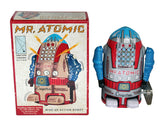 retro tin toy 'mr atomic robot'