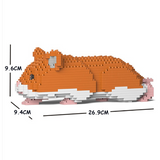jekca kit 'hamster walking' brown