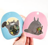 totoro stickers '60 pack pouch' blue - the-tangerine-fox