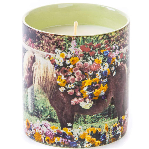 seletti wears toiletpaper candle 'pony'