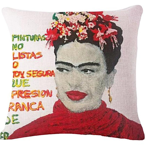CUSHION COVER 'FRIDA GRAFFITI'