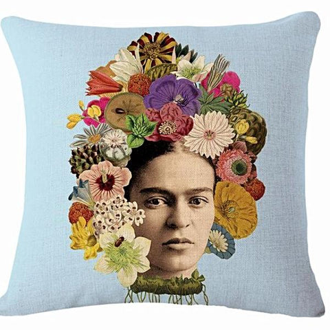 cushion cover 'frida floral roots'