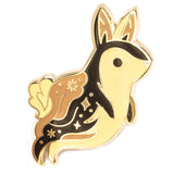 LOST LUST SUPPLY 'GHOST BUNNY' ENAMEL PIN