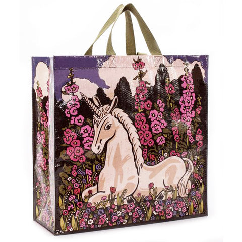 BLUE Q SHOPPER BAG 'UNICORN'