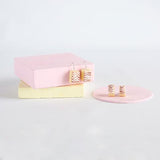 saturday lollipop earrings 'vanilla slice studs'