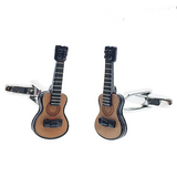 cufflinks 'acoustic guitar' - the-tangerine-fox