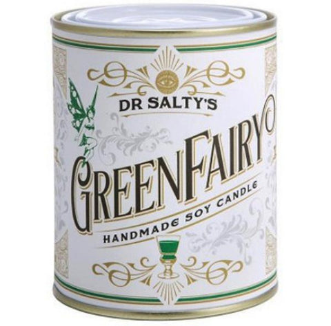 anvil creek co. candle 'dr salty's green fairy'