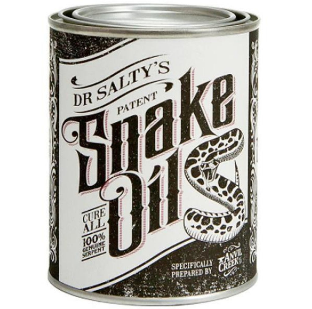 anvil creek co. candle 'dr salty's snake oil'