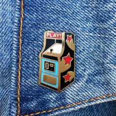 THE FOUND 'ARCADE GAME' ENAMEL PIN