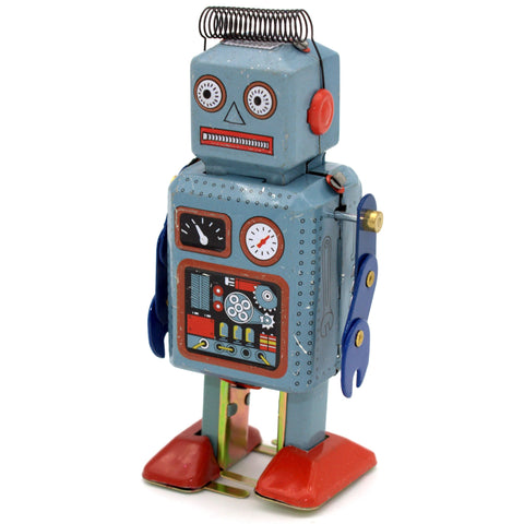 retro tin toy 'ariel robot'