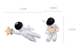 sugar earrings 'astronaut' studs