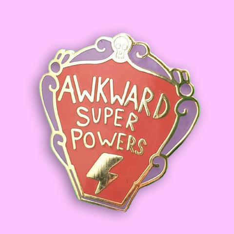 'awkward super powers'