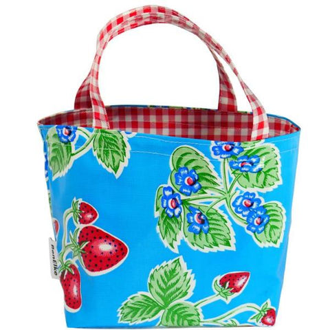 BenElke mini tote bag 'blue strawberry'