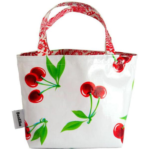 BenElke mini tote bag 'white cherry'