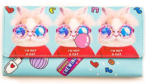 bentoy wallet 'i am not a cat'