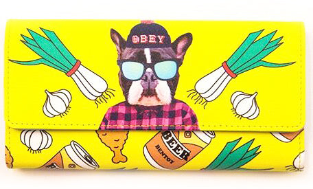bentoy wallet 'boxer dog'