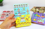bentoy passport wallet 'bowling cats'
