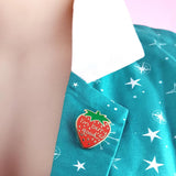 jubly-umph enamel pin 'i'm berry good'