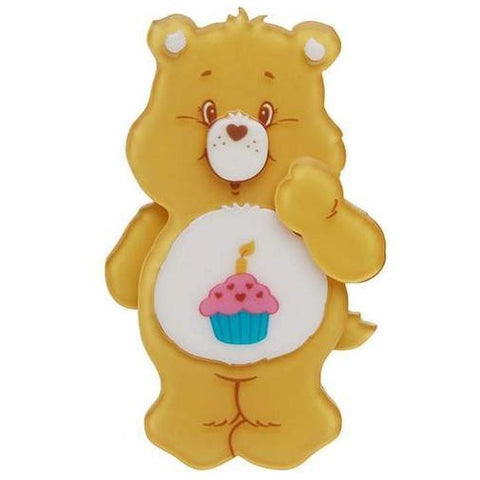 erstwilder brooch 'birthday bear'