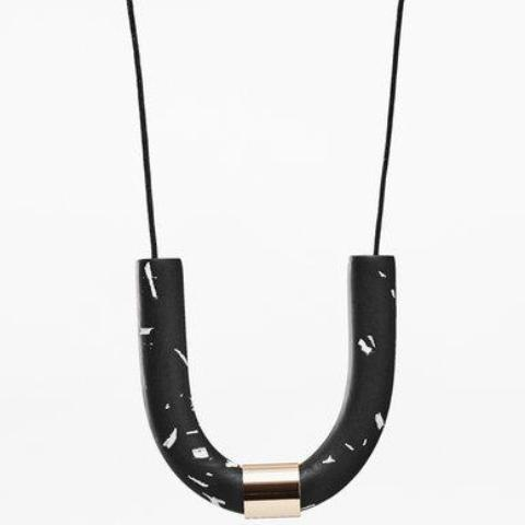 jack by sam necklace 'black gold cuff'