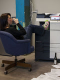 blue q women's socks 'bring your wine to work day'